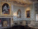 Salon bleu - Château de Goulaine