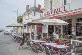 Terrasse du restaurant Le Saint-Paul Préfailles