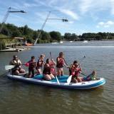 TSN44, baignade Saint Viaud, parc de loisirs, paddle, enfants, paddle géant,