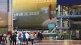 Visite d'Airbus