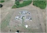Vue aérienne du dolmen de la Joselière