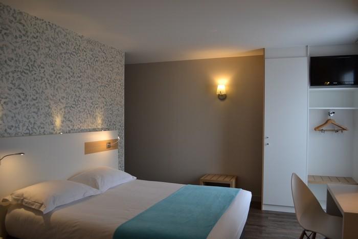 pornic hotel Brit Hotel Les Alizés groupe ville centre chambres parking wifi gare ascenseur