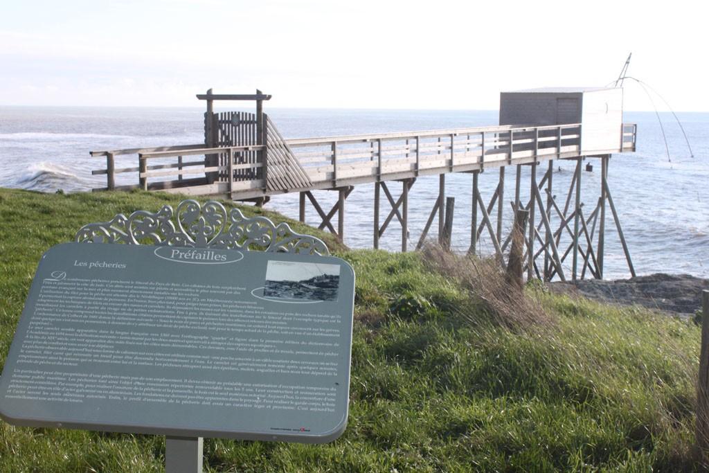 Circuit Histoire de Préfailles pupitres audio guidés promenade randonnée