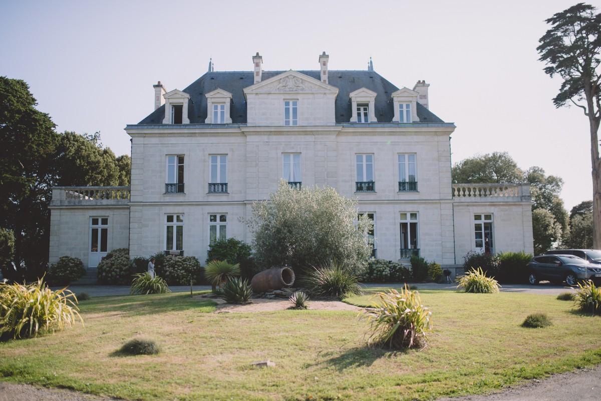 Gressière vue accueil, chateau, parc
