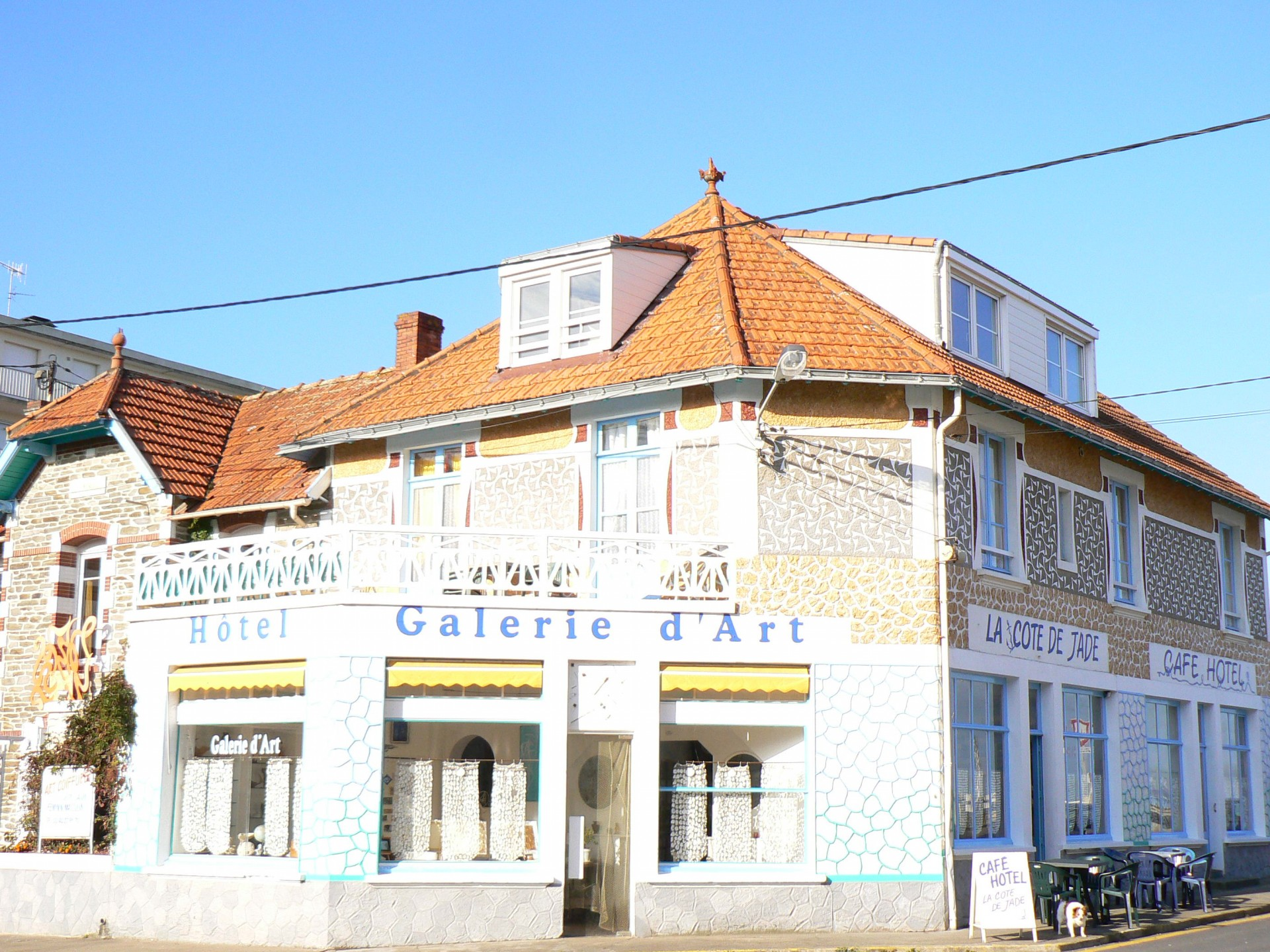 hôtel, Côte de Jade, cote de jade, hotel tharon, hôtel tharon plage, hôtel st michel chef chef