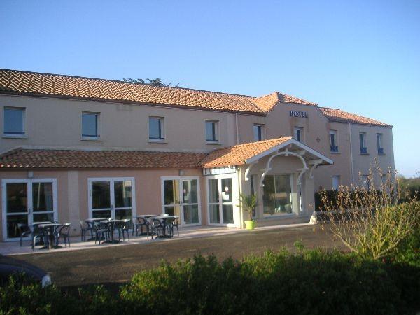 façade, Hôtel Salea, pornic, chambre, loire atlantique, 44