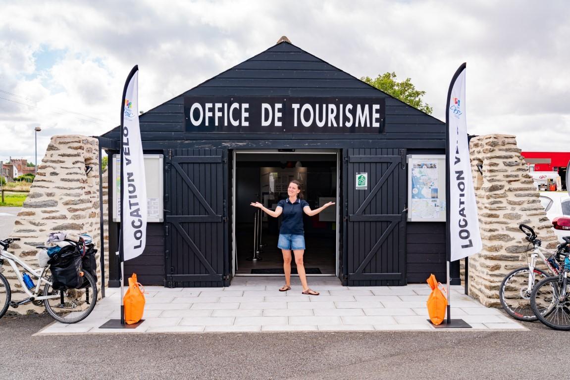 Destination pornic, Bureau Touristique, Office de Tourisme, Villeneuve en Retz, Circuit pédestre, circuit vélo, départ, circuit les aigrettes
