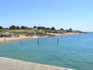 Cale de mise à l'eau, plage du Portmain