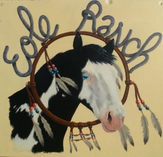 Logo Éole Ranch - Ferme équestre