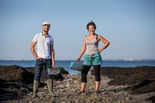 Julie et Vincent, guides pour ECHOS NATURE