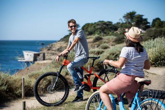 Balade à vélo Sainte Marie sur Mer - Vélodyssée