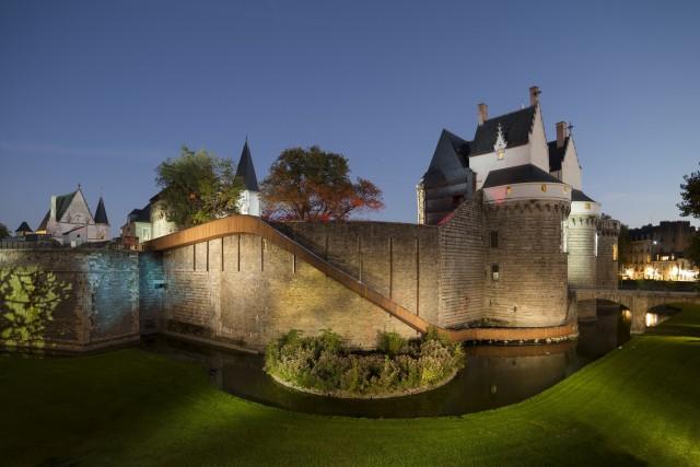 Château des Ducs de Bretagne illuminé