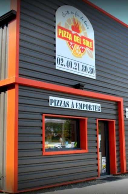 Façade extérieure Pizzeria, Pizza Del Sole à Bourgneuf-en-Retz