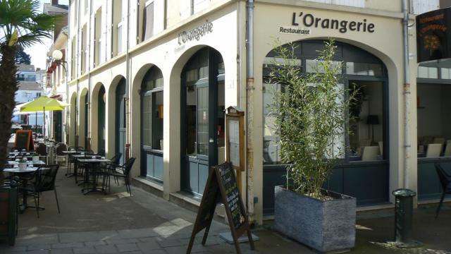 Façade restaurant l'Orangerie Pornic