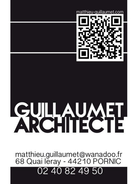 Guillaumet Architecte