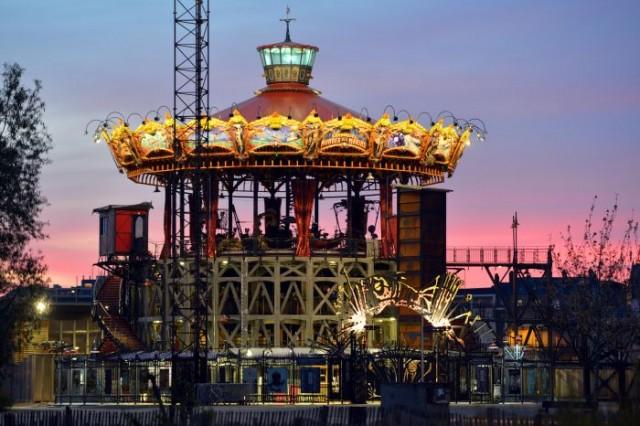 Le Carrousel des Mondes Marins. Les Machines de l'île. Nantes © Jean-Dominique Billaud - Nautilus/LV