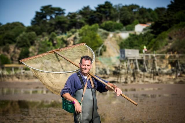Pêche à pied à la Boutinardière