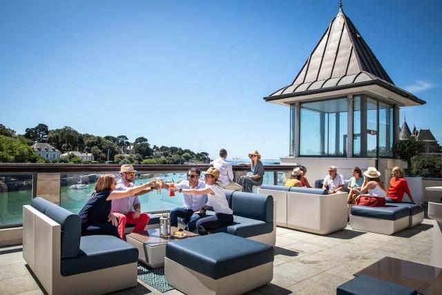 Restaurant Marius Pornic-rooftop