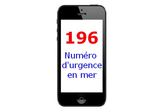 196 Numéro d'urgence en mer