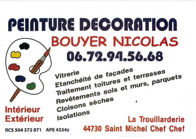 peinture, décoration bouyer, st michel chef chef, tharon, intérieur, extérieur