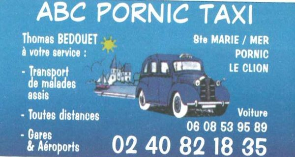ABC PORNIC TAXI destination pornic transport