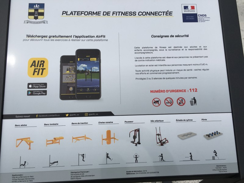 fitness, sport, application sport, plateforme fitness, air fit