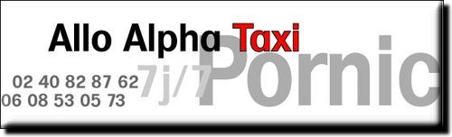 ALLO ALPHA TAXI PORNIC TRANSPORT TAXIS