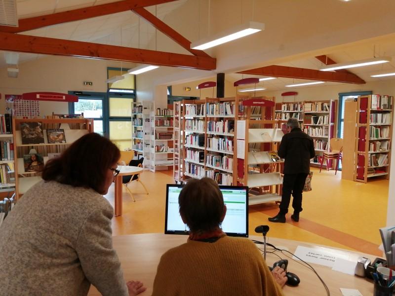 BIBLIOTHÈQUE RAYMOND DEVOS & ESPACE EMILE BOUTIN - LES MOUTIERS EN RETZ