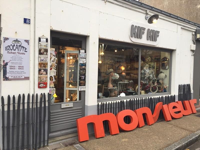 Boutique Kifkif, brocante la bernerie, vintage, déco, décoration