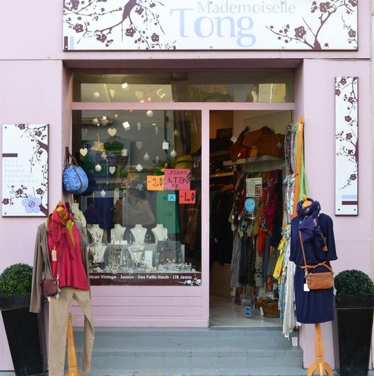 Boutique Mademoiselle Tong Pornic, nat et nin, sessun, ltb jeans, ubu, american vintage