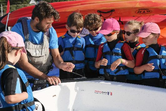 pornic club nautisme aviron voile kayak paddle nautique port plaisance stage cours location