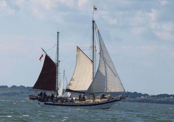 pornic voilier voile bateau sortie en mer promenade balade plaisance nautique nautisme corsaires brigantin
