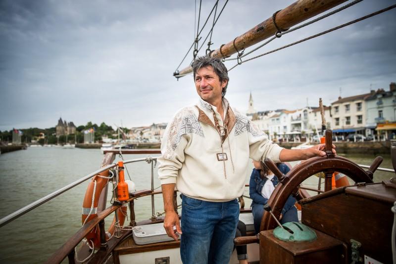 Corsaires de Retz, voilier, sortie en mer, bateau