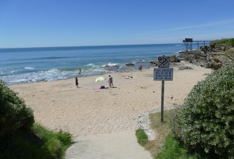 Entrée de la plage de Margaret