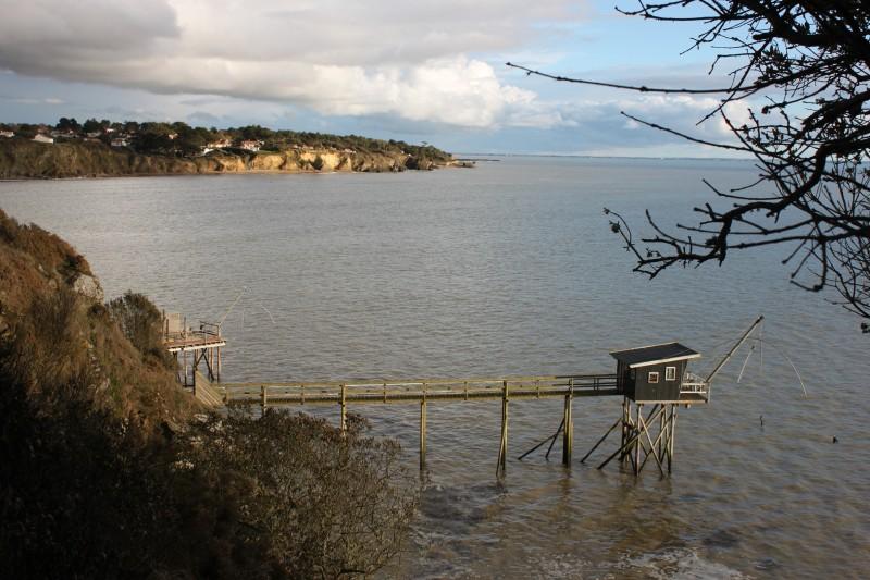 Falaises, Boutinardière, pêcherie, GR8, balade littorale, randonnée