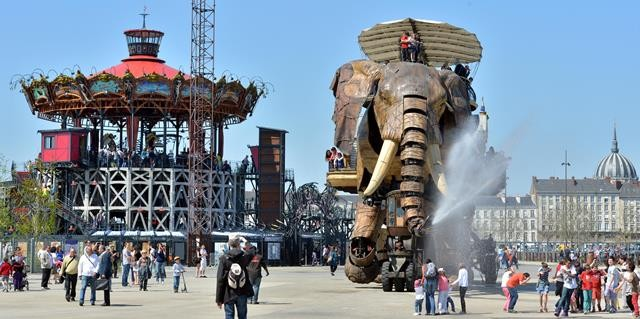Grand Elephant. Les Machines de l'île. Nantes© Jean-Dominique Billaud/LVAN