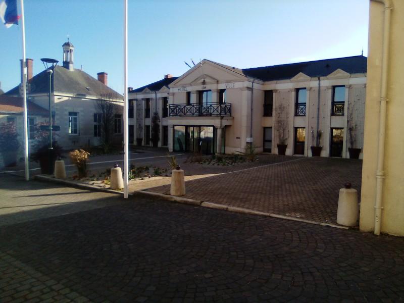 L'hôtel de ville de Sainte Pazanne