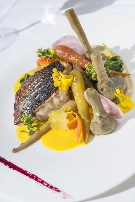 Restaurant La Source, Pornic, vue mer, gastronomie,