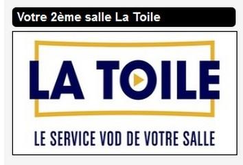 LA TOILE CINEMA A DOMICILE PORNIC SERVICE DE FILMS EN VOD  CINEMA CHEZ SOI