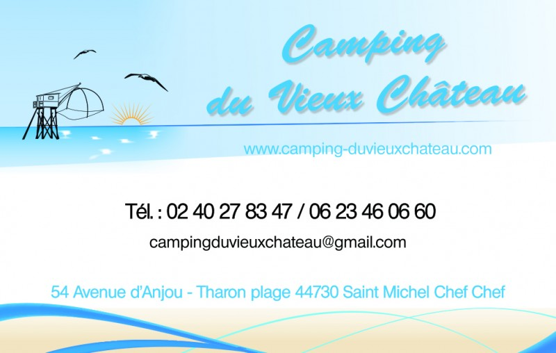 camping, tharon, st michel,mobilhome, vieux chateau, château
