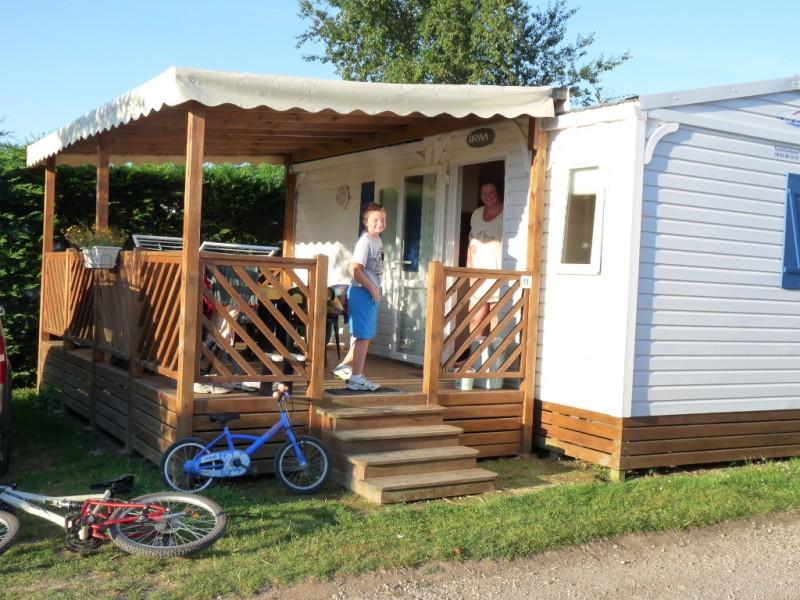 Mobil-home au camping le Bernier