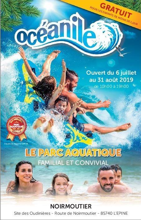 Oceanile Noirmoutier, parc aquatique, familial et convivial