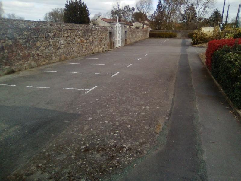 Parking du cimetière