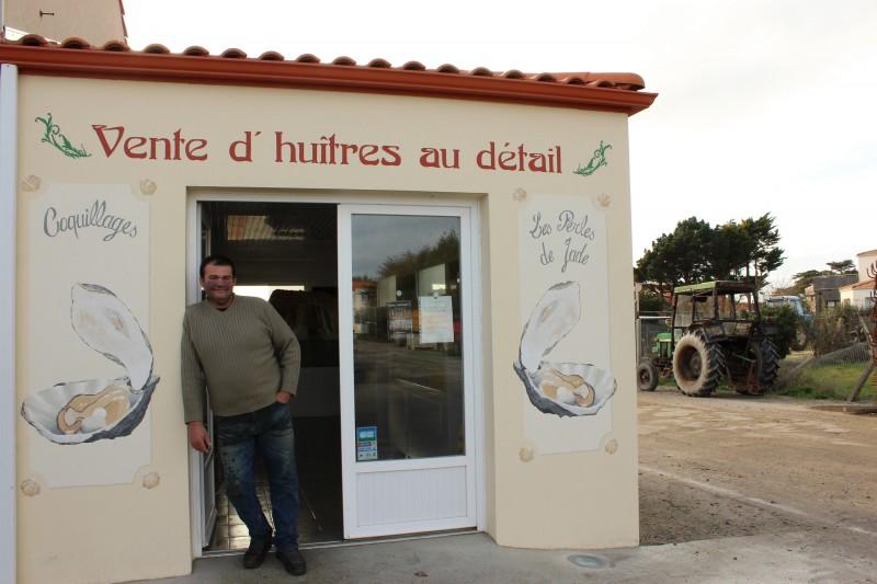 perle de jade, huître, producteur huîtres, vente huîtres, vente huîtres la bernerie en retz, producteur huître la bernerie en retz