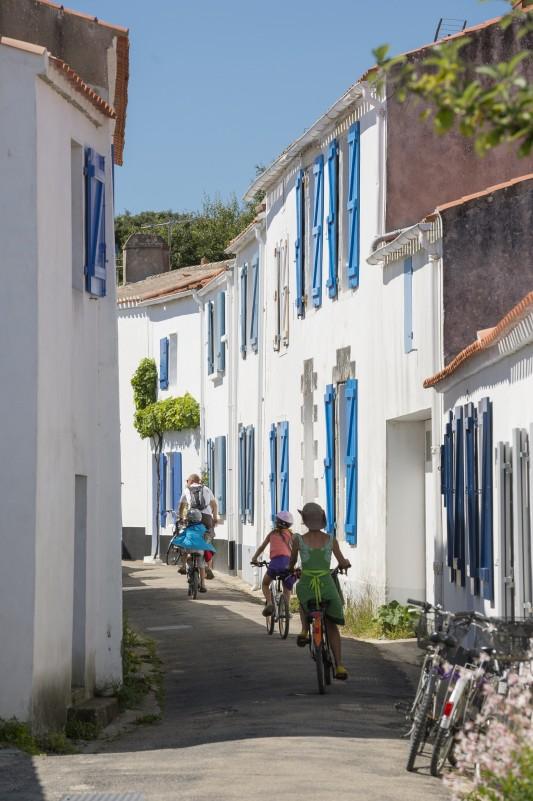 Rue de Banzeau, Île de Noirmoutier