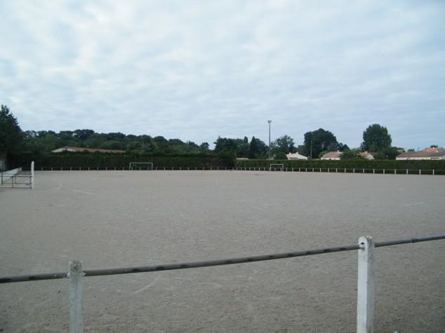 terrain de foot stabilisé, football, port saint père, pays de retz