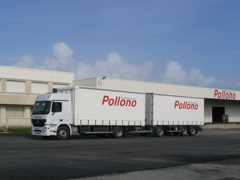 TRANSPORTS POLLONO PORTEUR REMORQUE PORNIC