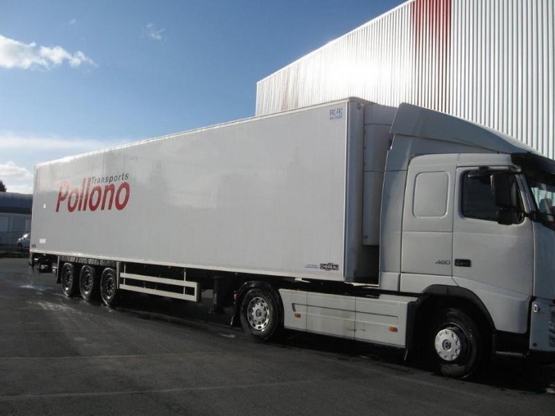 Marchandises TRANSPORTS POLLONO SEMI REMORQUE FRIGO