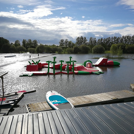 TSN44, baignade Saint Viaud, parc de loisirs, paddle,