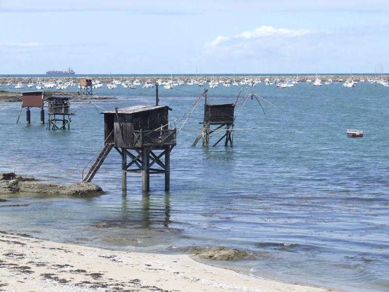 Vue du Port de Gravette